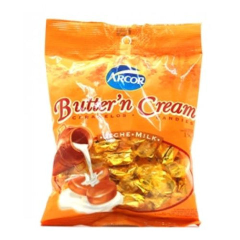 ARCOR BUTTER N CREAM CARAMEL CANDIES 935G