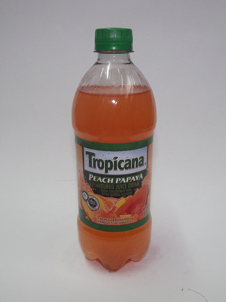 TROPICANA REAL FRUIT JUICE PEACH PAPAYA 591 ML