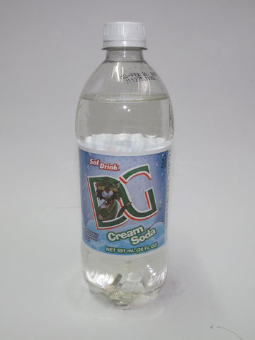 D&G SOFT DRINKS CREAM SODA 591ML