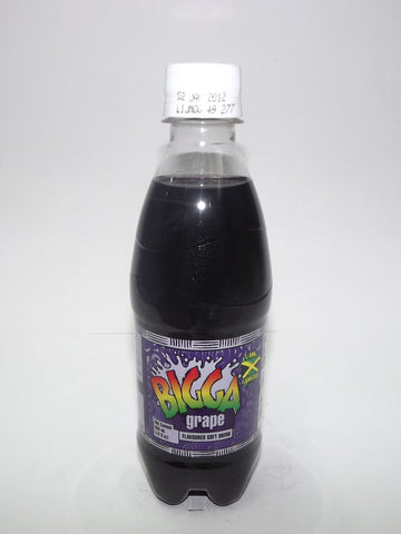 BIGGA GRAPE SODA 330ML