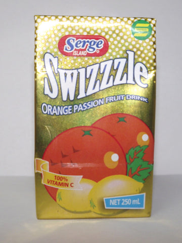 SWIZZLE ORANGE PASSION 250 ML