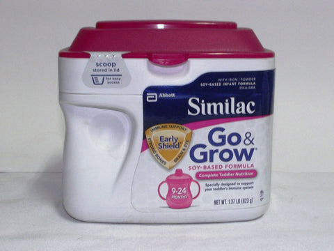 SIMILAC GO & GROW SOY POWDER 623 G