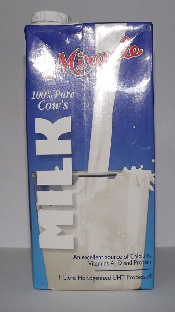 MIRACLE 100% PURE COWS MILK 1L