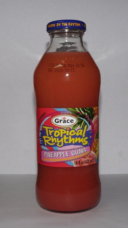 GRACE TROPICAL RHYTHMS PINAPPLE GUAVA 475ML