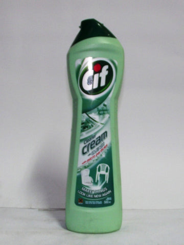CIF GENTLE SURFACE CLEANER CREAM WITH BLEACH 500ML