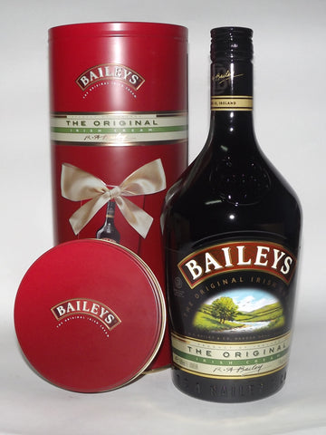 BAILEYS IRISH CREAM GIFT TIN 1LT