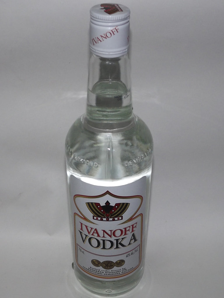 IVANOFF VODKA 750 ML