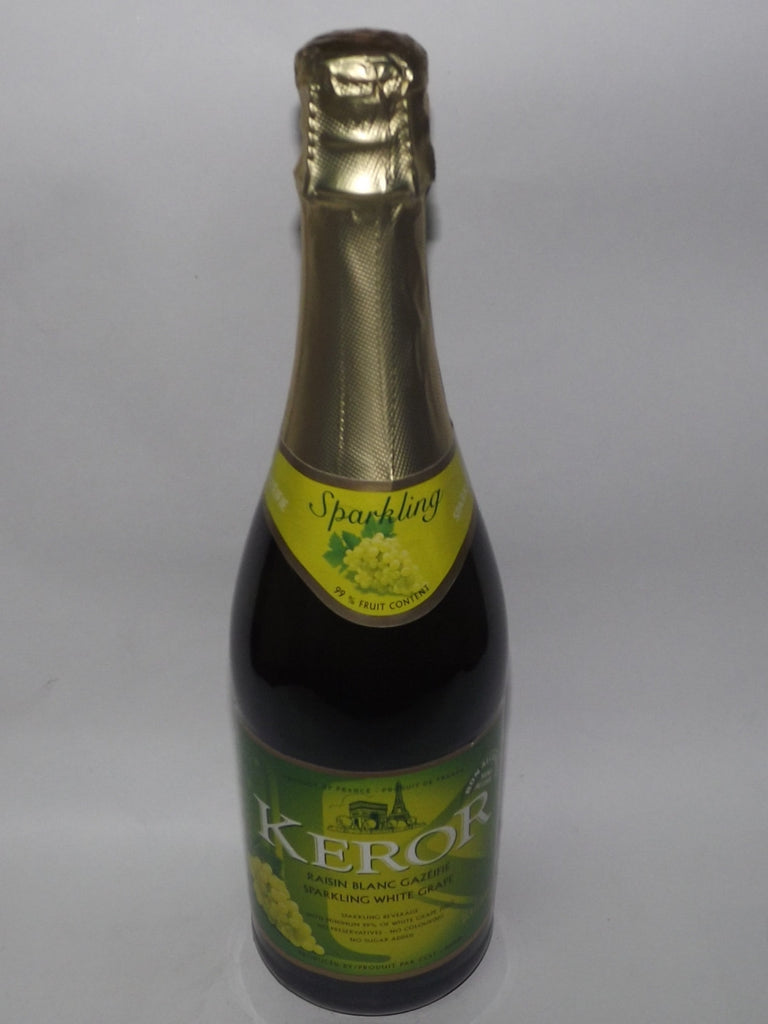 KEROR SPARKLING WHITE GRAPE JUICE 750 ML