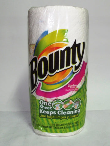 BOUNTY HAND TOWEL SELECT-A-SIZE FUN PRINTS