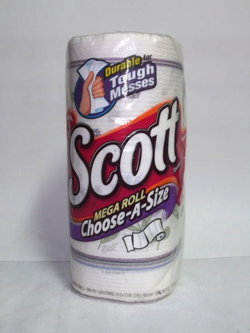 SCOTT MEGA ROLL HAND TOWEL 1PLY