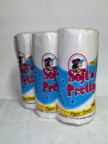 SOFT `N` PRETTY HAND TOWEL 2PLY