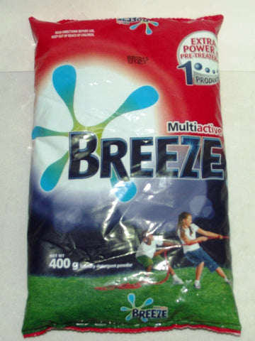 BREEZE MULTI ACTIVE CLEAN DETERGENT 400G/375G