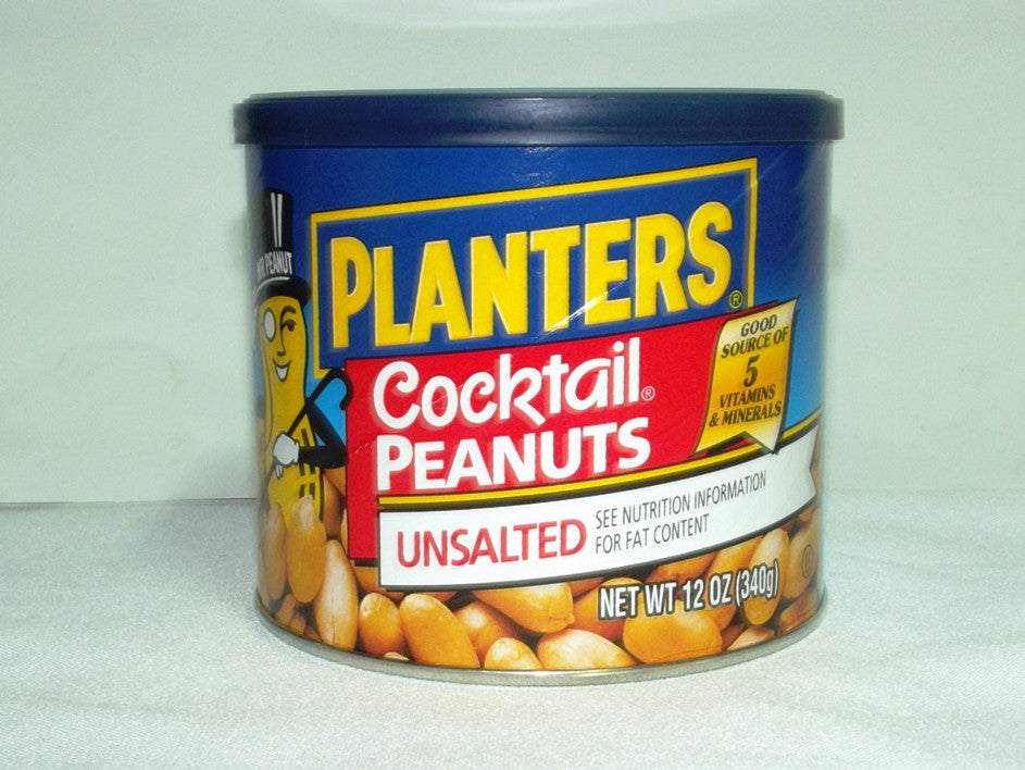 PLANTERS COCKTAIL PEANUT UNSALTED 340 G