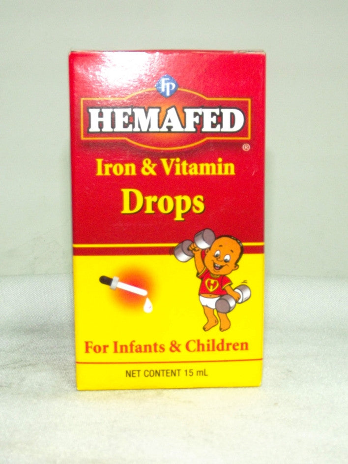 FP HEMAFED IRON & VITAMIN DROPS 15ML