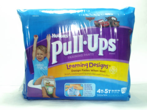 HUGGIES PULL-UPS TRAINING PANTS 4T-5T BOY 32