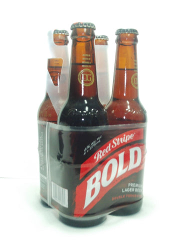 RED STRIPE BOLD 4-PACK 275 ML
