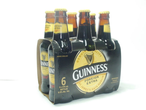 GUINNESS STOUT 275ML (LIQUID) 6 PACK