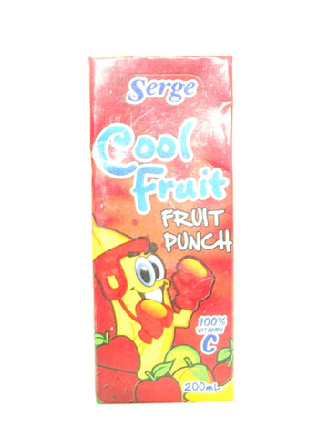 SERGE COOL FRUIT FRUIT PUNCH 200 ML