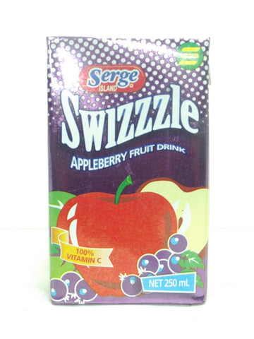 SWIZZLE APPLE-BERRY 250 ML