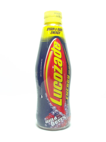 LUCOZADE ENERGY WILD BERRY 300 ML (BUY 2, GET 1 LUCOZADE REVIVE 300 ML)