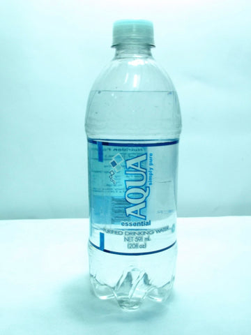 AQUA ESSENTIAL PURIFIED WATER 591ML