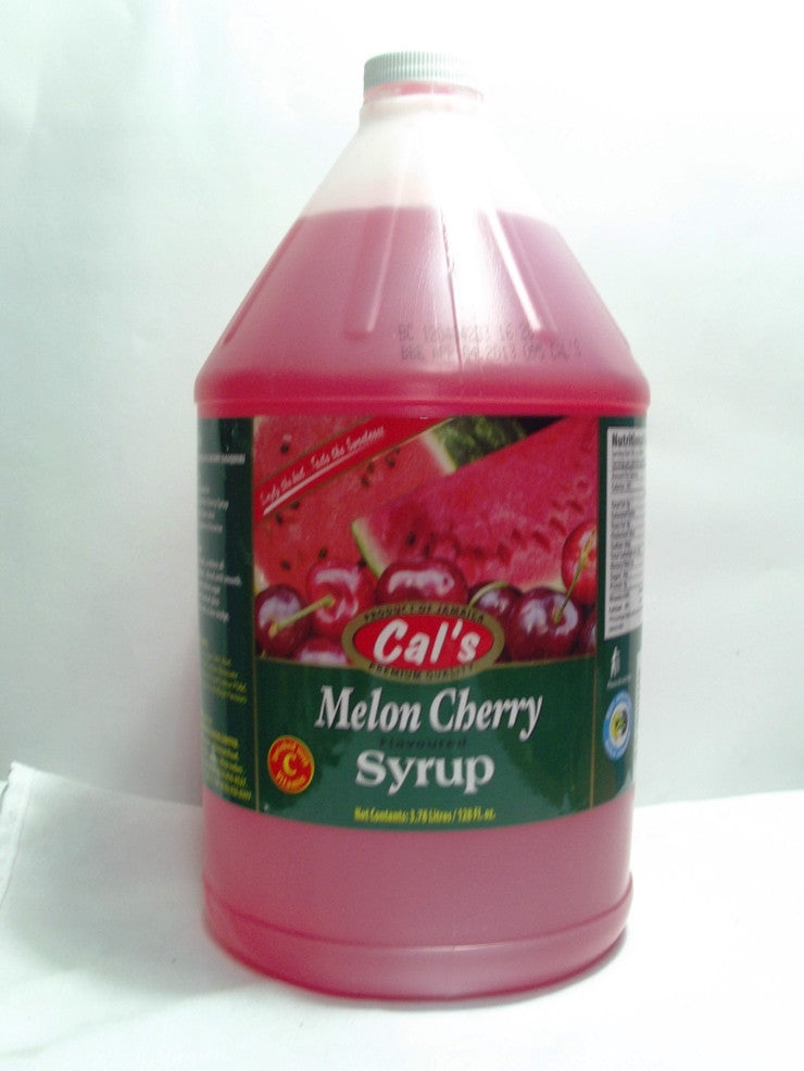 CALS MELON CHERRY SYRUP 1GAL