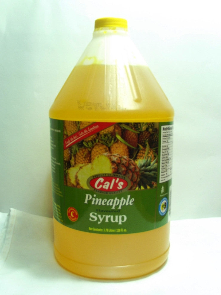 CALS PINEAPPLE SYRUP 1GAL