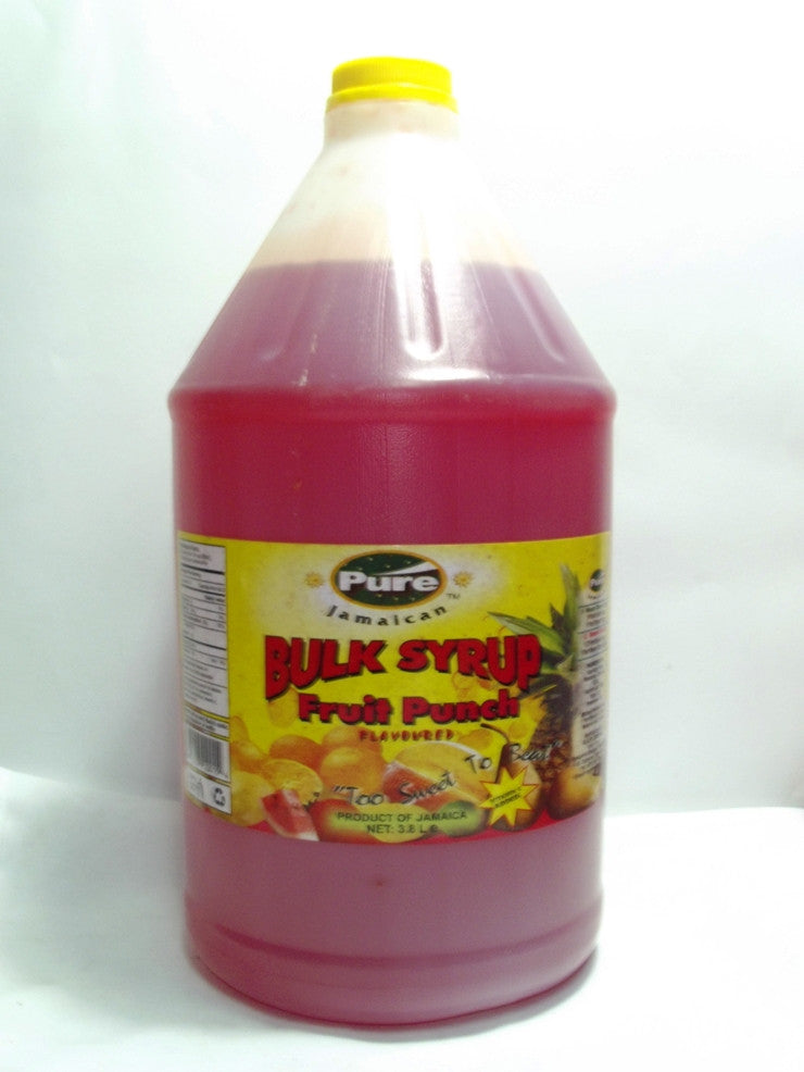PURE FRUIT PUNCH SYRUP 3.8 LT