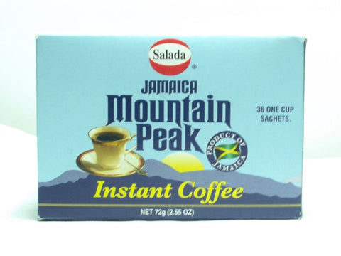 SALADA MOUNTAIN PEAK INSTANT COFFEE 72G