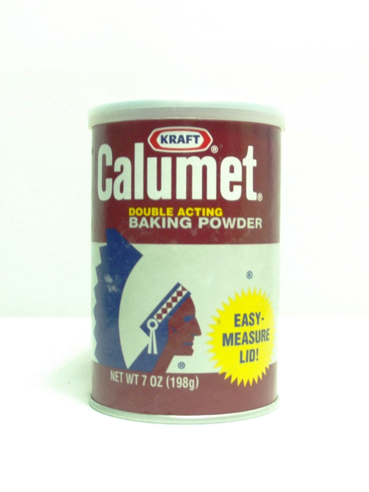 KRAFT CALUMET BAKING POWDER 198G