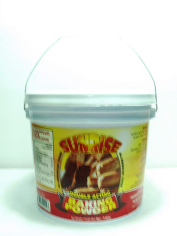 SUNRISE BAKING POWDER 8 LBS