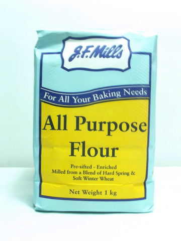 JF MILLS ALL PURPOSE FLOUR  1KG