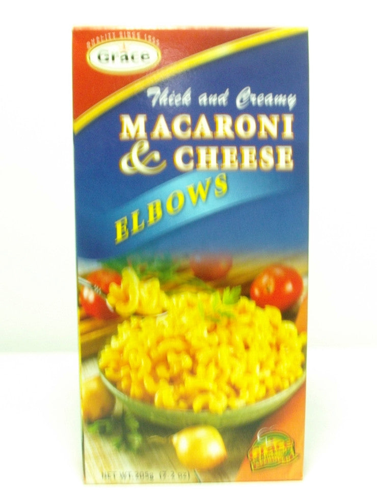 GRACE MACARONI & CHEESE ELBOWS 205G