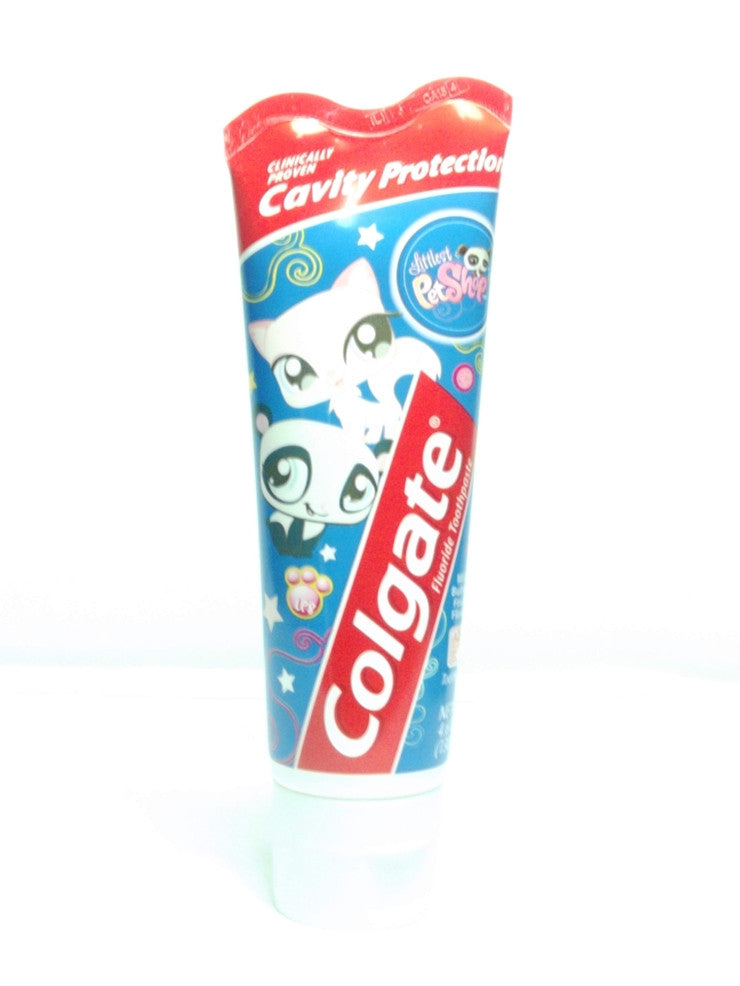 COLGATE JR CAVITY PROTECTION LIL PETS TOOTHPASTE 130G
