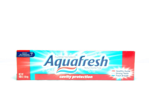 AQUAFRESH TOOTHPASTE CAVITY PROTECTION 130.4G