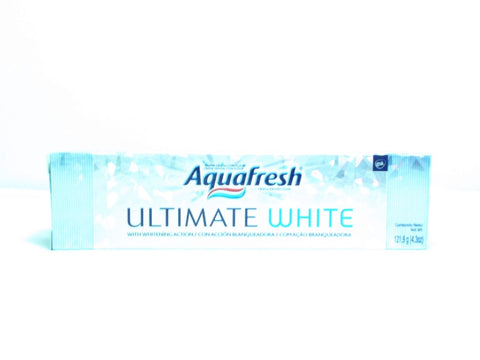 AQUAFRESH ULTIMATE WHITE 121.9G