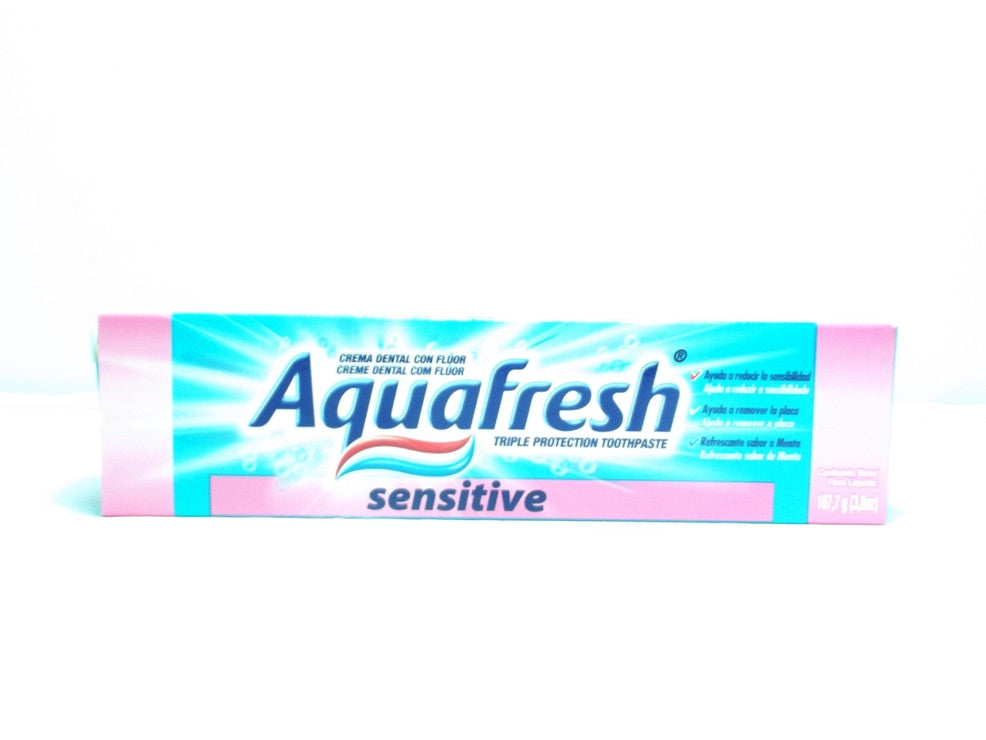AQUAFRESH TOOTHPASTE  SENSITIVE 107G