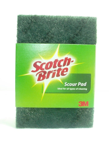 3M SCOTCH BRITE SCOUR PAD (SLEEVED) (10 pack)