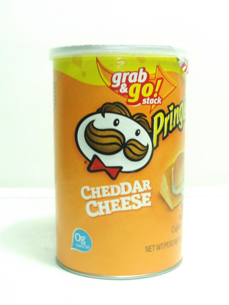 PRINGLES GRAB AND GO CHEDDAR CHEESE 71G