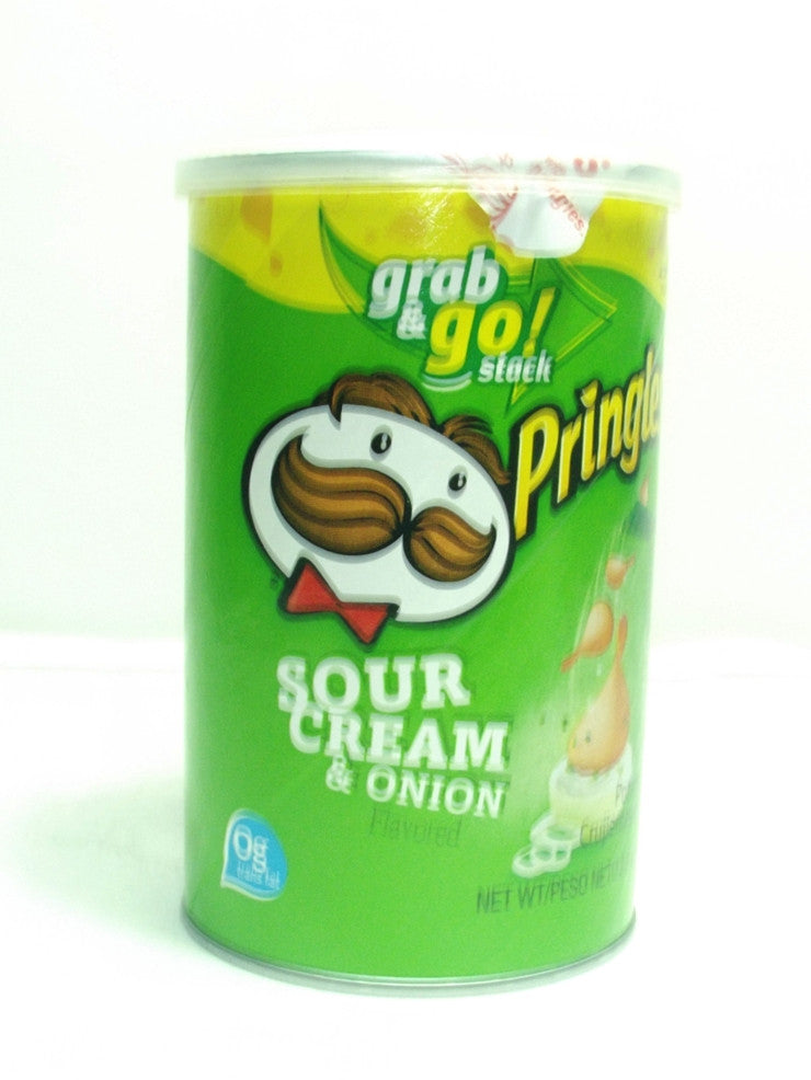 PRINGLES GRAB AND GO SOUR CREAM & ONION 80 G