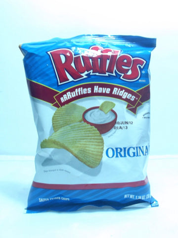 RUFFLES POTATO CHIPS ORGINAL 38 G