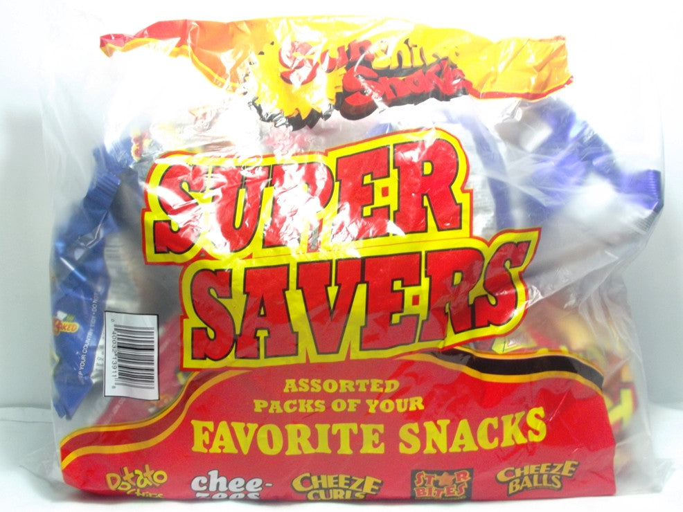 SUNSHINE SNACKS SUPER SAVERS 12-PACK