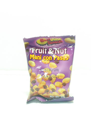 SUNSHINE SNACKS FRUITS & NUT 32 G