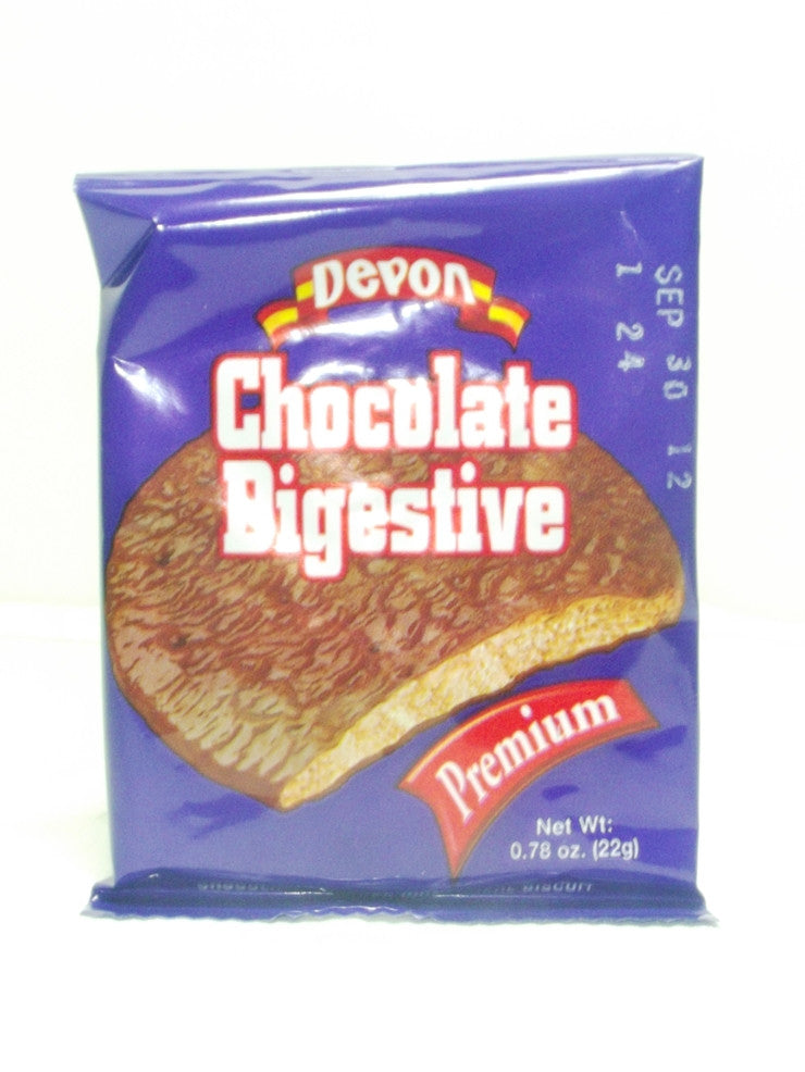 DEVON CHOCOLATE DIGESTIVE PREMIUM 22G 5 pack