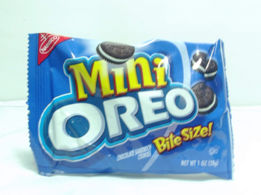NABISCO MINI OREO CHOCOLATE BISCUIT 28 G 3-PACK