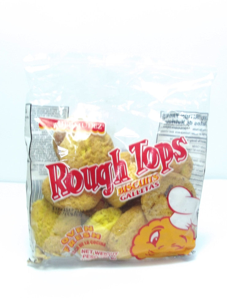 BERMUDEZ ROUGH TOP BISCUITS 50G