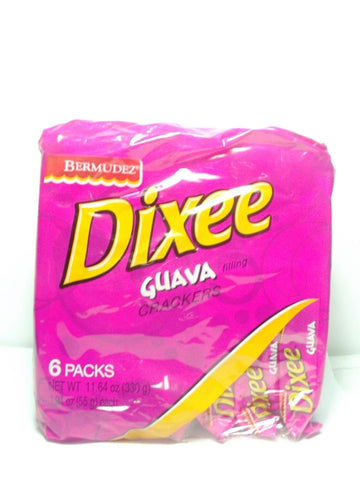 BERMUDEZ DIXEE CRACKERS GUAVA FILLED 300G