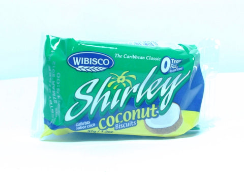 WIBISCO SHIRLEY COCONUT BISCUIT 37 G