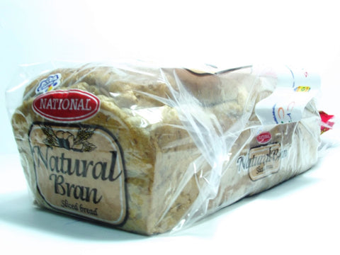 NATIONAL NATURAL BRAN SLICED BREAD 567 G