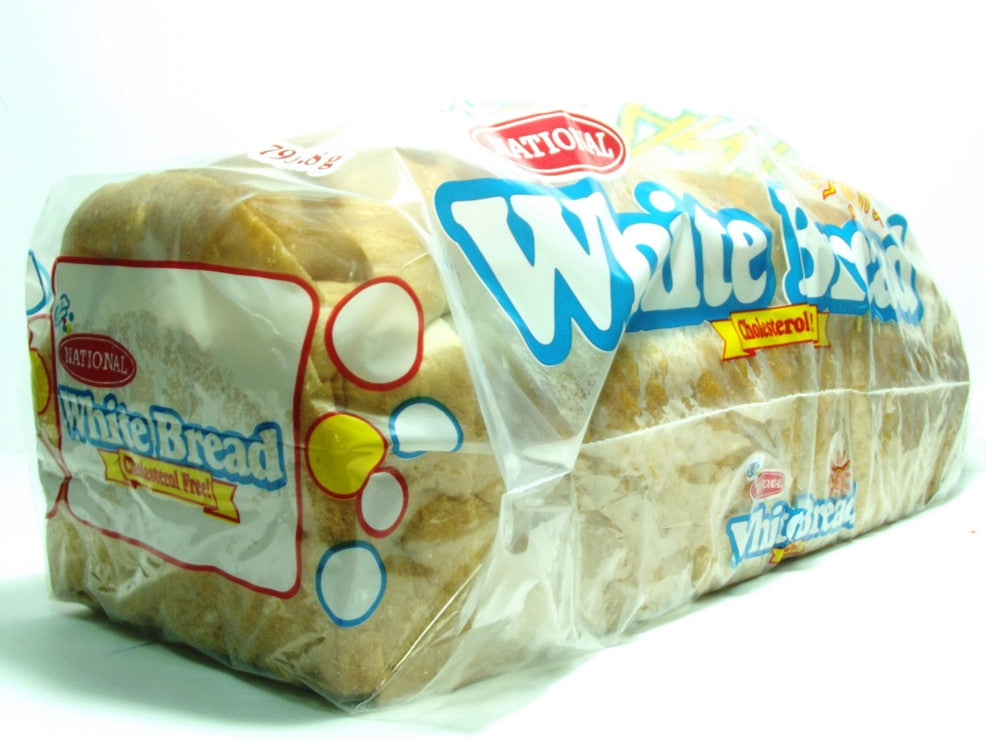 NATIONAL GIANT WHITE WEEEKENDER BREAD 793 G